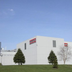 Fairchild Semiconductor wafer fabrication building in South Portland.