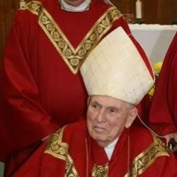 Former archbishop Hannan who gave JFK eulogy dies