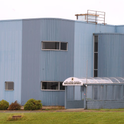 One of the bulidings of the Maine Military Authority on the grounds of the former Loring Air Force Base in Limestone.