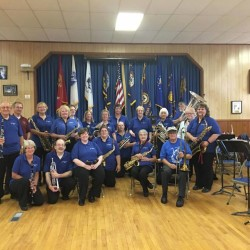 Cherryfield Band Concert at American Legion Post 8, in Cherryfield.  A special 30th year anniversary concert.  The band appreciates the American Legions support.