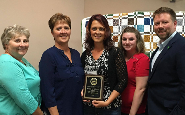 Madawaska's Ouellette Named Clerk Rookie of the Year