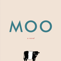 MOO by Sharon Creech book cover