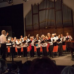 Quoddy Voices perform during their winter 2015 'Sounds of the Season' concert.