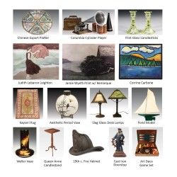 A wide variety of items on offer in Thomaston Place Auction Galleries' Summer Online Timed Auction - now through Sept. 14
