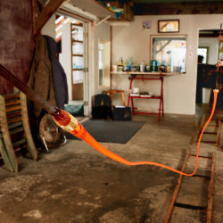Tandem Glass Gallery and Studio in Dresden is part of Maine Craft Weekend, Oct. 1-2.