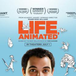 "Poster art for ""Life Animated,"" screening at the 2016 Camden International Film Festival."