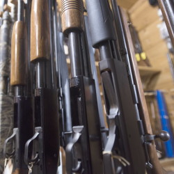 There are 468 licensed firearm dealers in Maine, outnumbering post offices.