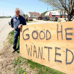Pete Waterman of Waterman Farms in Sabattus posted a help-wanted sign along Route 126 in front of his family's farm in 2013 because he was looking for a skilled farmhand.