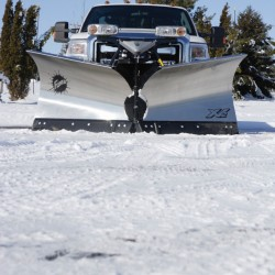 "FISHER® V-plow performance, the Stainless Steel XV2™ V-plow, 8' 6"" blade width, valued at $8,500"