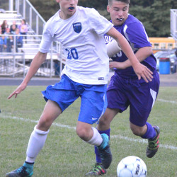 Brewer battles Mount Ararat boys soccer team, but falls 1-0