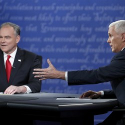 A dark debate: Trump and Clinton spend 90 minutes on the attack