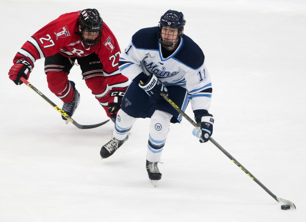 Hockey East: Freshmen Spark Early Optimism For UMaine Men's Hockey Team
