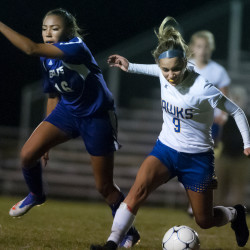 John Bapst girls collect third straight soccer victory