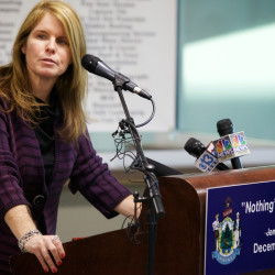 Maine Department of Health and Human Services Commissioner Mary Mayhew is pictured in a 2015 file photo.