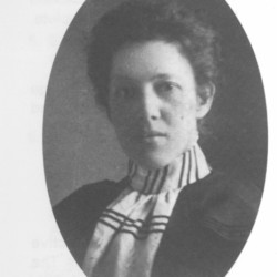 Mary Beal, founder of Beal College, can be seen in this undated photo. Beal College marked its 125th anniversary on Thursday.