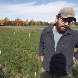 Fail Better Farm owner Clayton Carter said recently that the yield of several vegetables was significantly lower due to the drought in Maine.