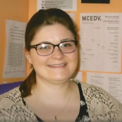 Casey Faulkingham of Houlton is the prevention and training coordinator for the Hope and Justice Project in northern Maine.