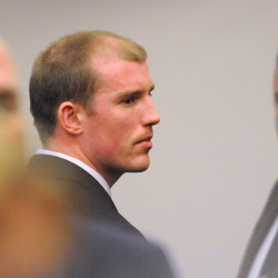 Nicholas Sexton can be seen at the Penobscot Judicial Center in this May 2014 file photo.