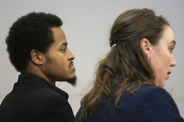 Keith Coleman (left), 27, the man accused of slaying his girlfriend and her two children the weekend before Christmas.