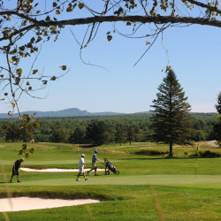 People play golf at the Penobscot Valley Country Club in Orono in this September 2014 file photo.