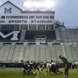 The Harold Alfond Sports Stadium in Orono is among several University of Maine athletics facilities that have been built with money provided by the Harold Alfond Foundation. The philanthropic organization on Monday announced that it is providing $1.5 million over the next three years to further support UMaine athletics.