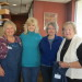 PHOTO –Guild members, left to right: Carol Laferriere, Doris Stevens, Janet Saucier, Jeanne Brown