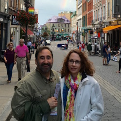 Dr. Ira Mandel and Rebekah Mandel, RN