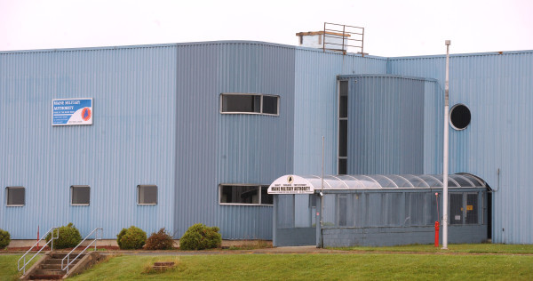 One of the buildings of the Maine Military Authority on the grounds of the former Loring Air Force Base in Limestone.