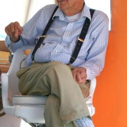 Ralph Stanley; photo by Laurie Schreiber
