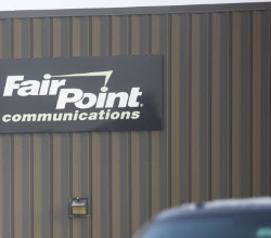 FairPoint Communications can be seen in Bangor in this August 2014 file photo.