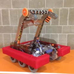 Brewer High School Robotics Team's robot Windsor will be demonstrating his skills at the Team's Craft Fair October 29 at Brewer High School.