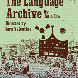 The Language Archive by Julia Chow.