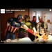 EMMC gives kids epic surprise with superheroes cleaning windows