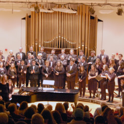University Chorale, conducted by Nicholás Alberto Dosman