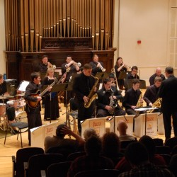USM Jazz Ensemble Directed by Chris Oberholtzer.