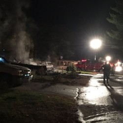 A body was recovered from the rubble following an explosion at a house in Saco early Tuesday morning.