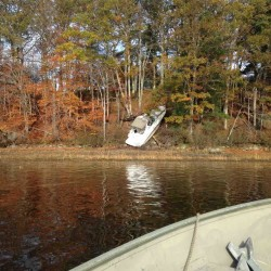 A Bowdoinham man was charged with operating a watercraft under the influence following an Oct. 30 crash on Swan Island that injured two women.