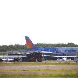 Bangor airport official satisfied with Allegiant's safety record despite engine failure