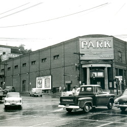The Park Theater was located at the corner of State and Park streets in Bangor. Today the spot is a parking lot.