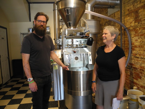 Susanne Ward, owner of Rock City Coffee Roasters and Rock City Cafe, is looking forward to transitioning the company's business model to that of an employee-owned cooperative.