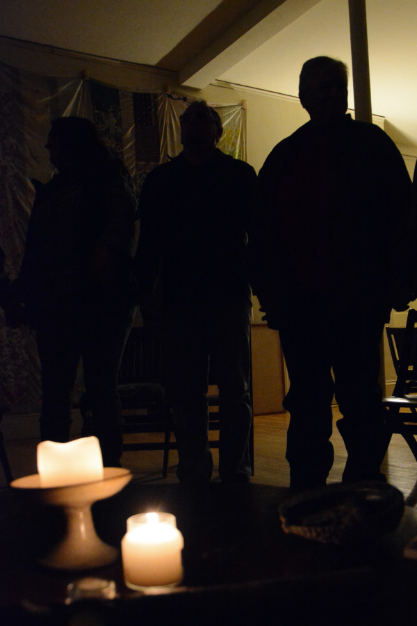 President-elect Donald Trump hasn't slammed them the way he has other minorities, but LGBT members of local Unitarian Universalist churches, including these participating in a vigil in Bangor on Wednesday night, still fear that a Trump presidency will curtail their legal rights and social acceptance.