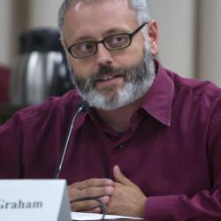 Bangor City Councilor Gibran Graham.