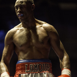 Portland boxer Russell Lamour Jr.