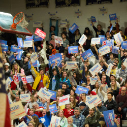 Over 1,000 Maine Democrats caucus at Bangor High School in this March 2016 file photo.