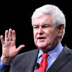 Former U.S. House speaker Newt Gingrich delivers remarks on Dec. 8, 2015, in Orlando, Florida.