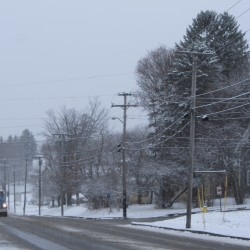 Subzero weather grips northern Maine