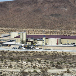 The Pentagon recently completed a new $100 million water treatment plant to serve the 26,000 people at the drought-plagued Fort Irwin in the Mojave Desert in California.