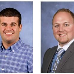 Ryan Jandreau (left) and Brett Speed (right).