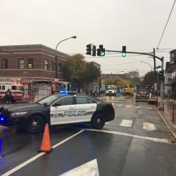 Portland neighborhood evacuated after construction crew ruptures gas line