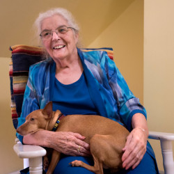 Eddington resident Pat Eye was instrumental in starting hospice services in the Bangor area -- first at St. Joseph Hospital, then at Eastern Maine Medical Center, and finally her own New Hope Hospice in Eddington.